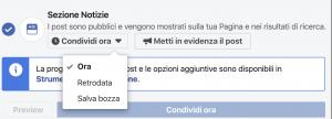 Cosa puoi fare con un post facebook